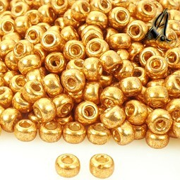 ROCALLA MIYUKI 6/0 DURACOAT GALVANIZED GOLD X 6GR