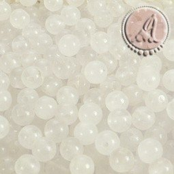 JADE BLANCO BOLA 4MM X 50Uds