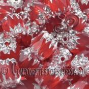 Cuenta Cristal Checo Rojo