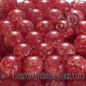 Cuarzo Craquelado Rojo 10mm