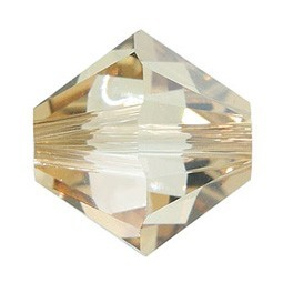 Tupis Cristal Swarovski Cristal Golden Shadow