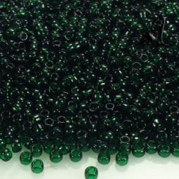 ROCALLA TOHO 8 DE 3MM TRANSPARENT GREEN EMERALD X 6GR
