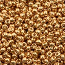 Rocalla 11/0 MIYUKI™ Dorado Galvanizado