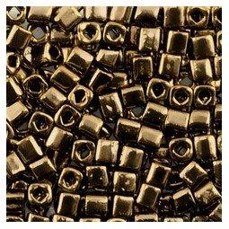CUBOS TOHO 4MM BRONCE X 6GR