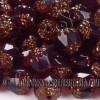Cuenta de Cristal Checo Granate (5Uds)