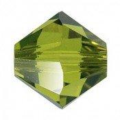 Tupis Cristal Swarovski Verde Olivine