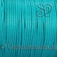 cordon-algodon-encerado-1mm-turquesa