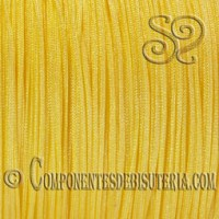 cordon-nylon-trenzado-1mm-color-amarillo