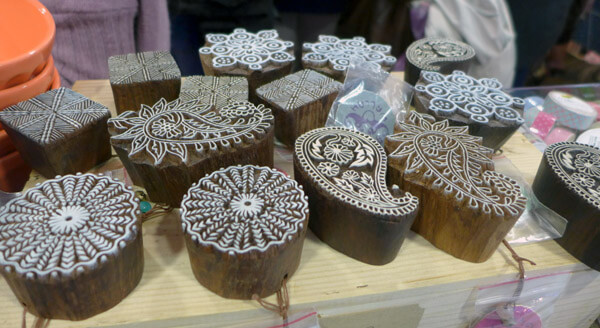 Sellos de madera en el DIY Show